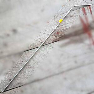 Inox usmjerivac za nož ili sataru 58cm
