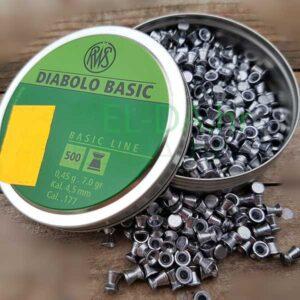 RWS basic diabole tupe 500kom 4.5mm