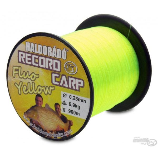 Haldorado record carp fluo žuti najlon