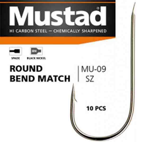 mustad round bend match mu09 udice