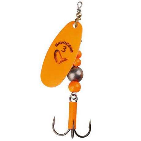 Savage gear caviar spinner varalica fluo orange