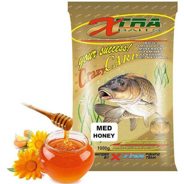 Xtra baits crazy carp prihrana med