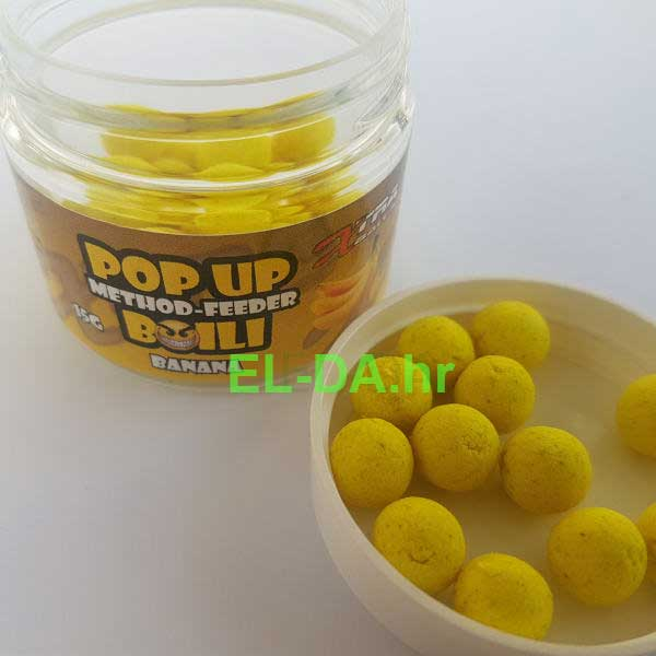 Xtra baits method feeder popup boile 10mm banana