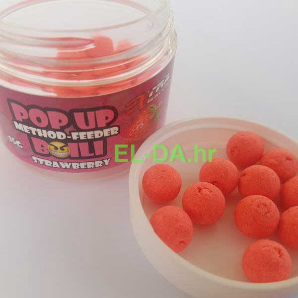 Xtra baits method feeder popup boile 10mm jagoda