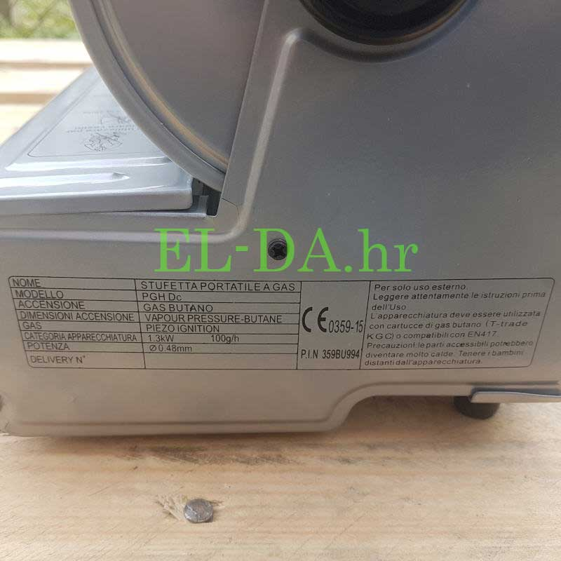 Plinska grijalica na kartušu ili bocu 3