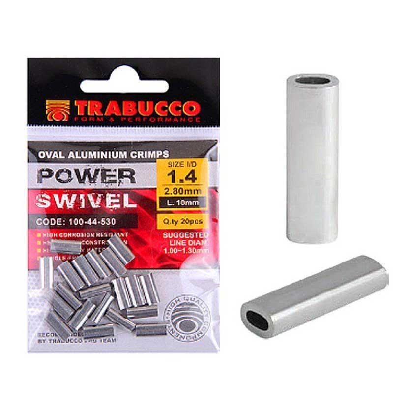 Trabucco oval aluminium crimps puškice za krimpanje